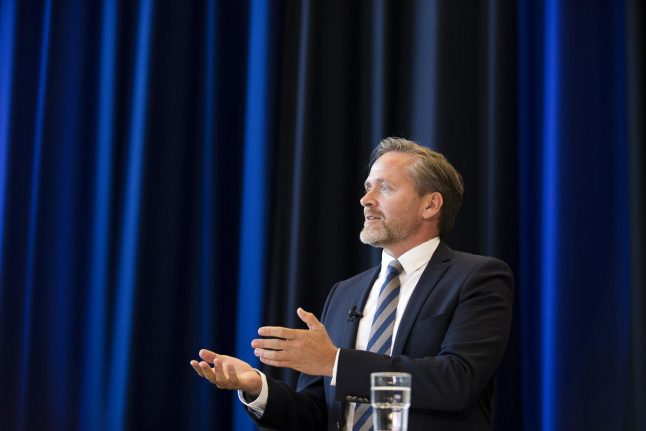 Danish foreign minister hopes to improve relations with visit to India