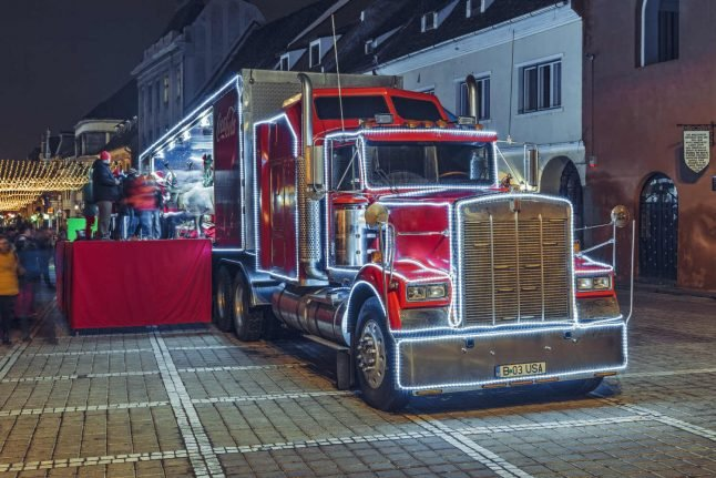 Coca-Cola's Christmas truck is coming to Danish towns
