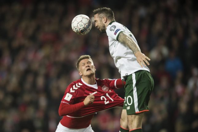 Denmark held by Ireland in drab World Cup play-off