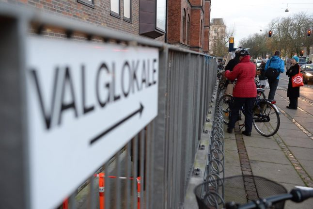 No rain for Danes and foreigners on election day