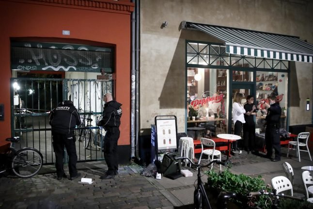Copenhagen police lift stop-and-search zone