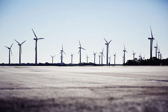 Denmark's green energy growing faster than expected
