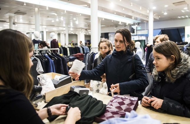 Denmark's Christmas present exchange begins, but stores can refuse unwanted gifts