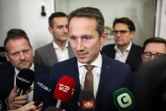 Denmark gets budget but coalition party leaves room for doubt