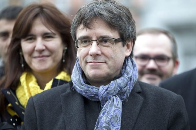 Sacked Catalan leader to travel to Denmark from Belgium