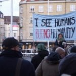 VIDEO: Protests in Danish cities over controversial asylum expulsion centres
