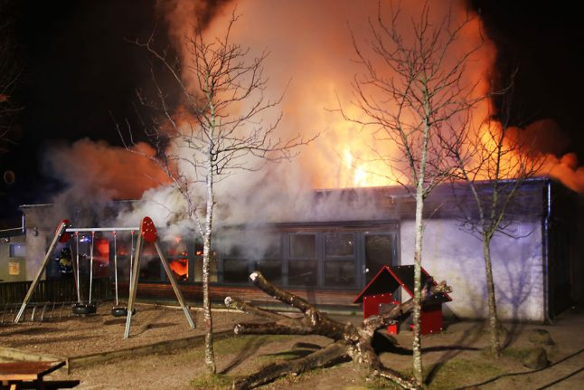 Daycare centre connected to abuse case destroyed in fire