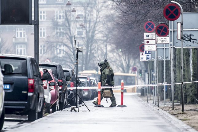 Alert called off at Copenhagen U.S. Embassy after object found to be harmless