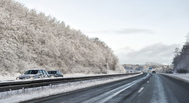 Poor conditions connected to 23-vehicle accident on Danish motorway