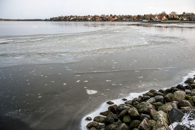 Slight sunshine and temperatures over freezing in Denmark this week