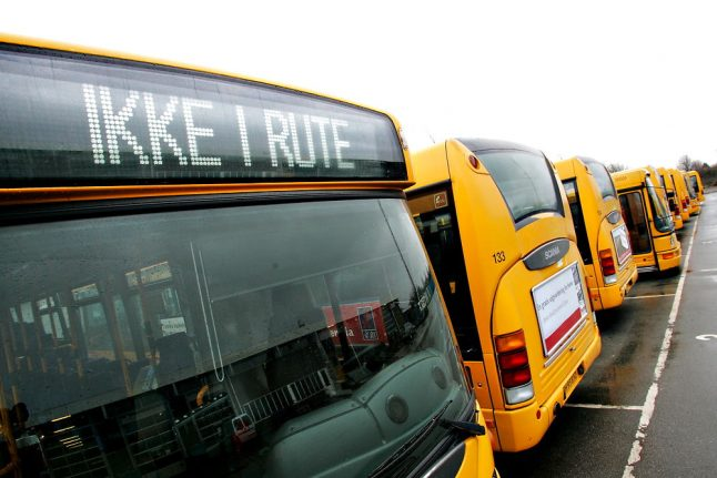 Bus routes could be cancelled after vandalism in Danish town
