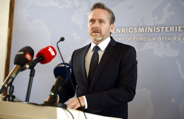 Denmark to expel two Russian envoys over UK spy attack