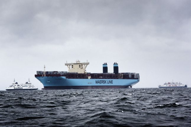 Crew members missing after Maersk ship catches fire in Arabian Sea