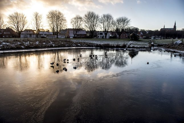 Warmer weather short-lived as winter returns to Denmark