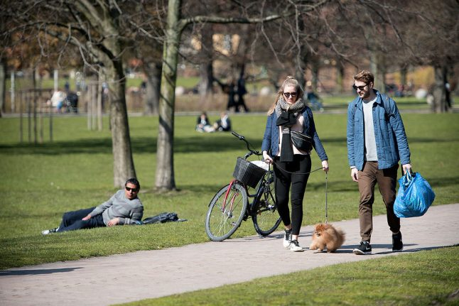 Weekend temperatures close to 20 degrees in Denmark as spring arrives