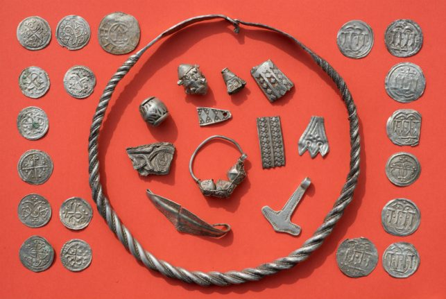 Viking Age treasures connected to legendary Danish king found on German island