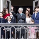 Danish crowds cheer Queen Margrethe on birthday appearance