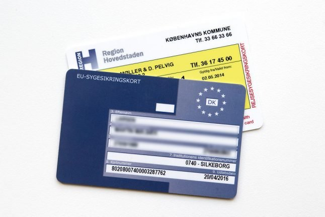 Could Denmark's personal registration number be linked to Facebook accounts?