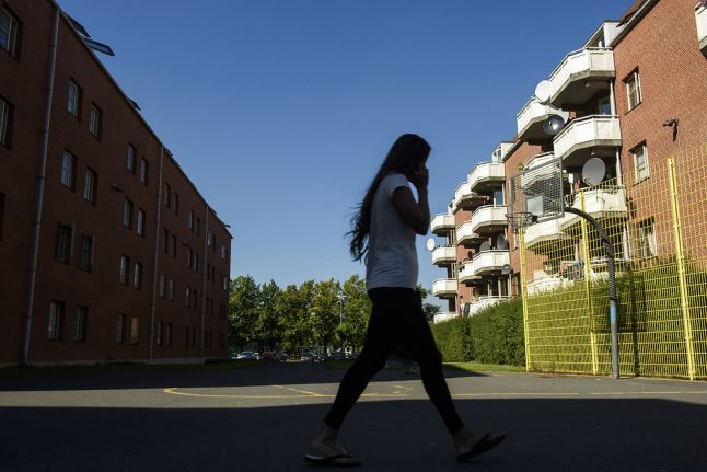 Crime rates falling in Denmark's underprivileged areas