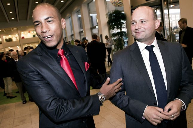 Danish justice minister's fiancé assaulted in homophobic attack