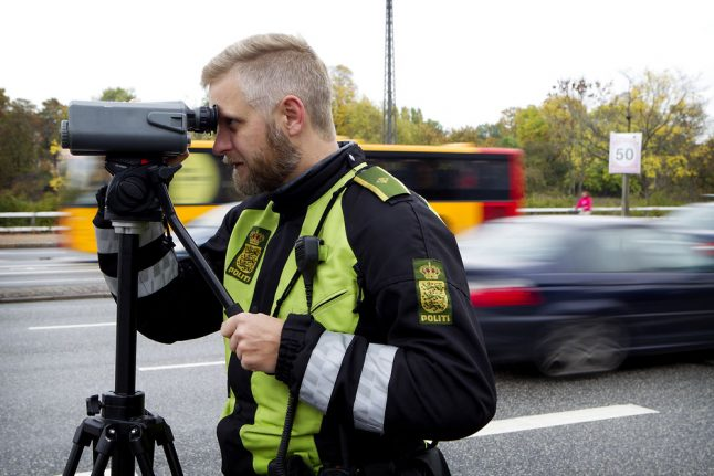 Danish police catch 1,600 motorists as extra speed cameras get to work