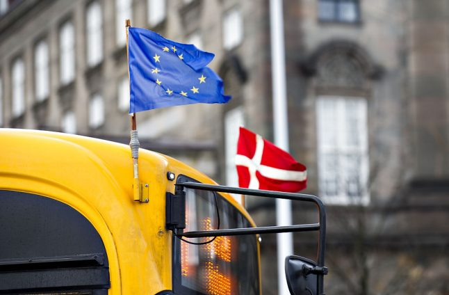 Support for EU 'at record level' in Denmark