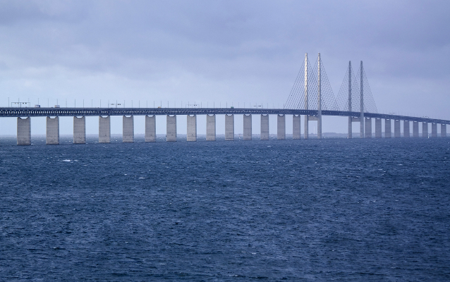 Danish and Swedish search for man who fell overboard called off