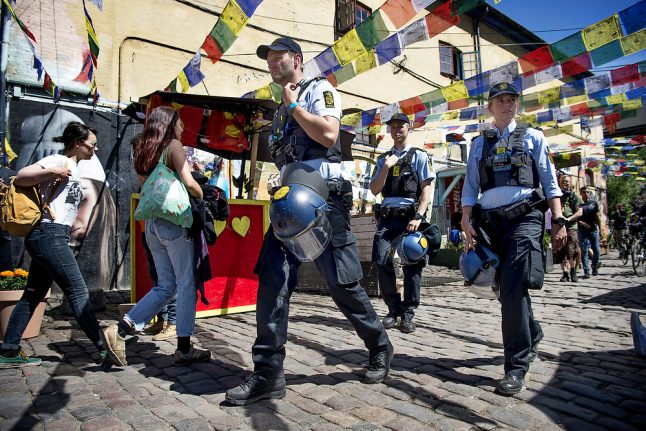 After five days of raids, Christiania hash traders stop rebuilding market