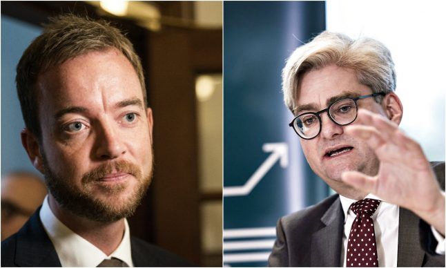 Denmark's government rocked by double minister resignation