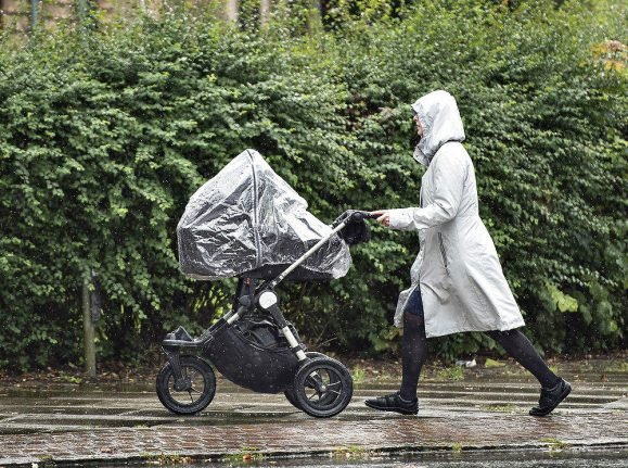 Rainy start to the week in Denmark will give way to more sun