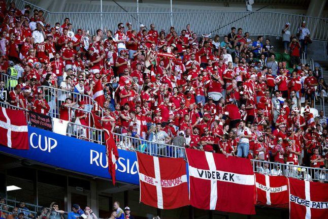 Denmark fined for World Cup fans' bad behaviour