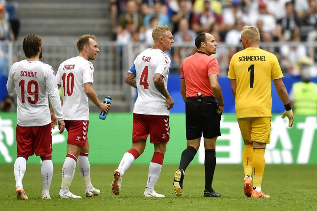 Denmark frustrated by Australia in World Cup draw