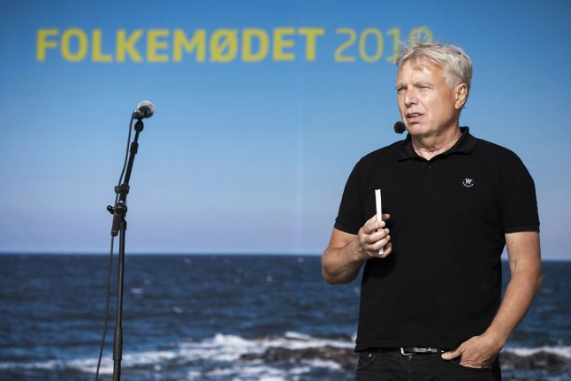 Danish environmentalist throws hat into ring for PM election