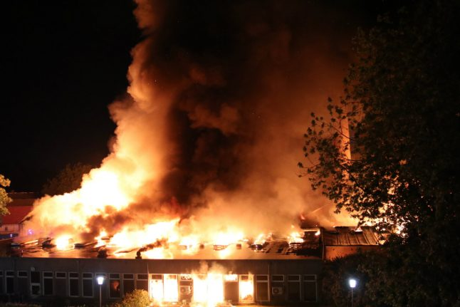 Drone played 'decisive' role in fighting fire at Danish hospital