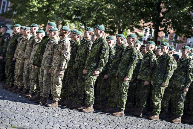 Number of Danes unsuitable for military service a concern: soldiers' union