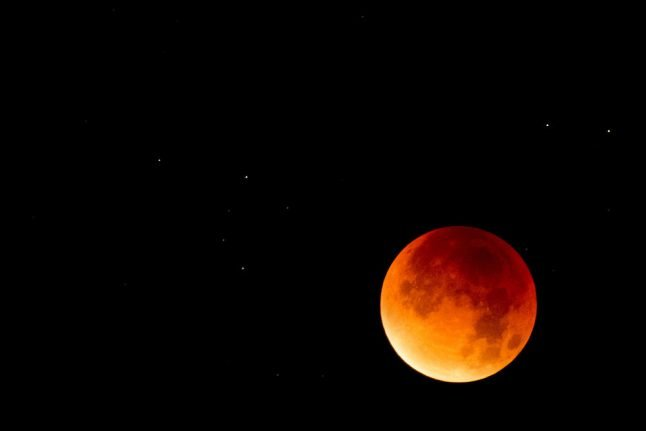 Weather conditions perfect for lunar eclipse over Denmark