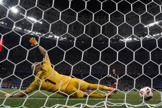 Denmark out of World Cup after falling to Croatia on penalties