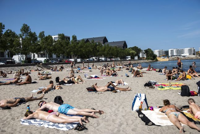 Danish 'heatwave and tropical nights' forecast
