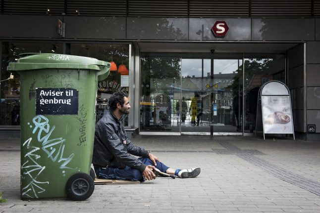 Denmark's anti-begging law only convicted foreigners: report