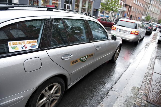Taxis hard to come by at Denmark's hotels