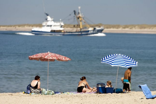 Denmark has hottest day in eight years