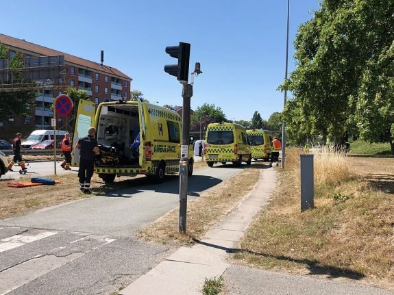 Six ambulances respond to serious motorway accident