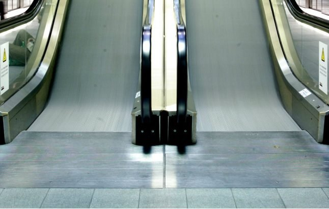 Escalators off at Copenhagen station as safety issues discovered