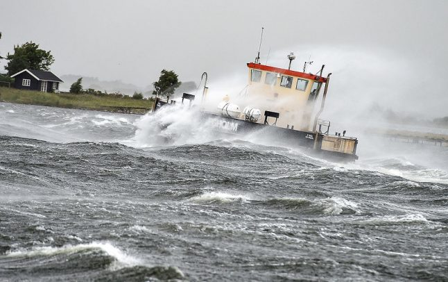 Storm cancelled in Denmark, but high winds and rain forecast for weekend