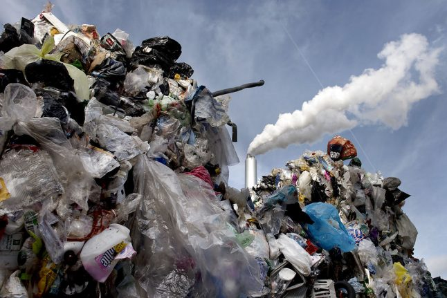 Danes are sorting more plastic waste than ever before, but very little gets recycled