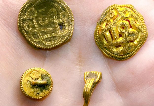 Amateur Danish archaeologist finds 1,500 year-old treasure