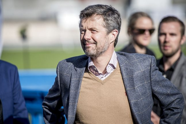Denmark's Crown Prince Frederik has surgery for back problem