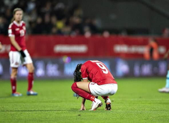 Danish national team fails to qualify for World Cup