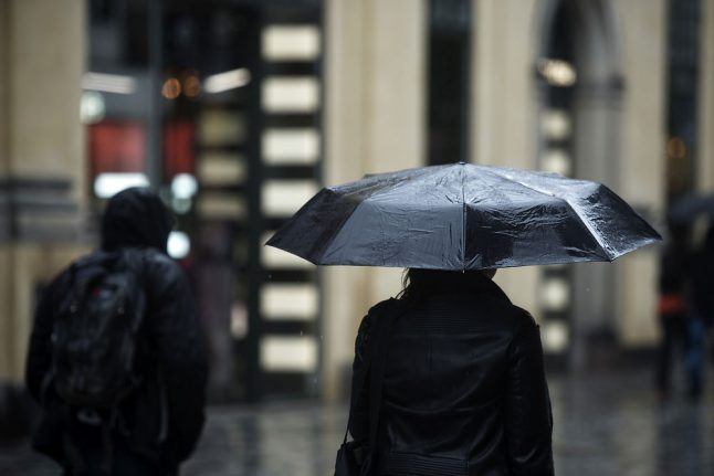 Denmark set for autumnal week with plenty of rain and wind