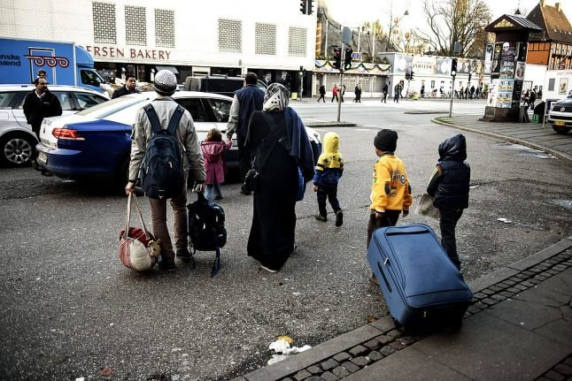 Denmark refuses to take in UN quota refugees in 2018